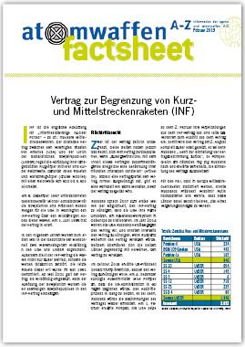 IPPNW Factsheet: Vertrag zur Begrenzung von Kurz und Mittelstreckenraketen