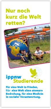 IPPNW-Infoflyer für Studierende