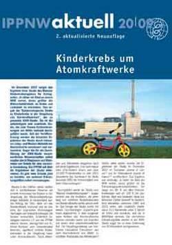 "IPPNW-aktuell ""Kinderkrebs um Atomkraftwerke"""