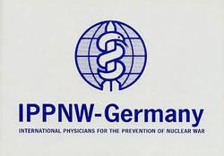 Aufkleber IPPNW-Germany