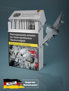 Postkarte Rüstungsexporte schaden der friedenspolitischen Glaubwürdigkeit!