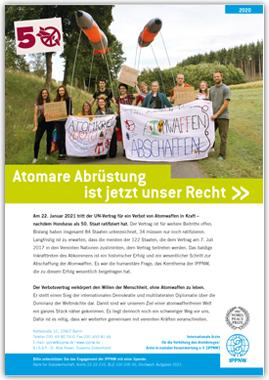 IPPNW-Faltblatt: Atomare Abrüstung ist jetzt unser Recht