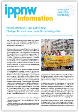 IPPNW-Information Klimakatastrophe und Aufrüstung