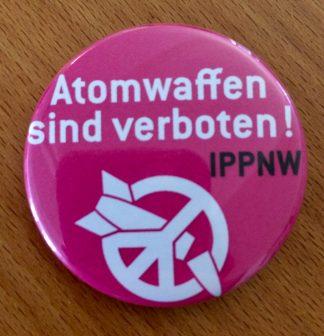 Button Atomwaffen sind verboten
